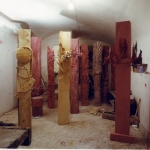Studio di Giacinto Cerone, Roma 2001. Foto F. Ceccardi