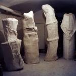 Studio di Giacinto Cerone, Roma 1998. Foto G. Benni
