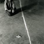 GIACINTO CERONE in TOR BELLA IN OPERA, Spazio per l'arte contemporanea Tor Bella Monaca, Roma 1999. Foto  C. Abate