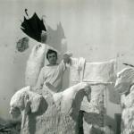 Giacinto Cerone nel suo studio, Roma, 1993